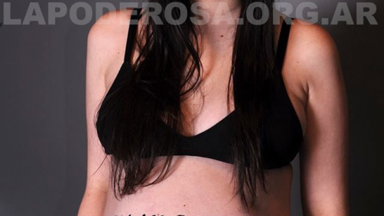 Sofia Gala defendió el aborto, embarazada de Dante. (Foto: revista La garganta poderosa)
