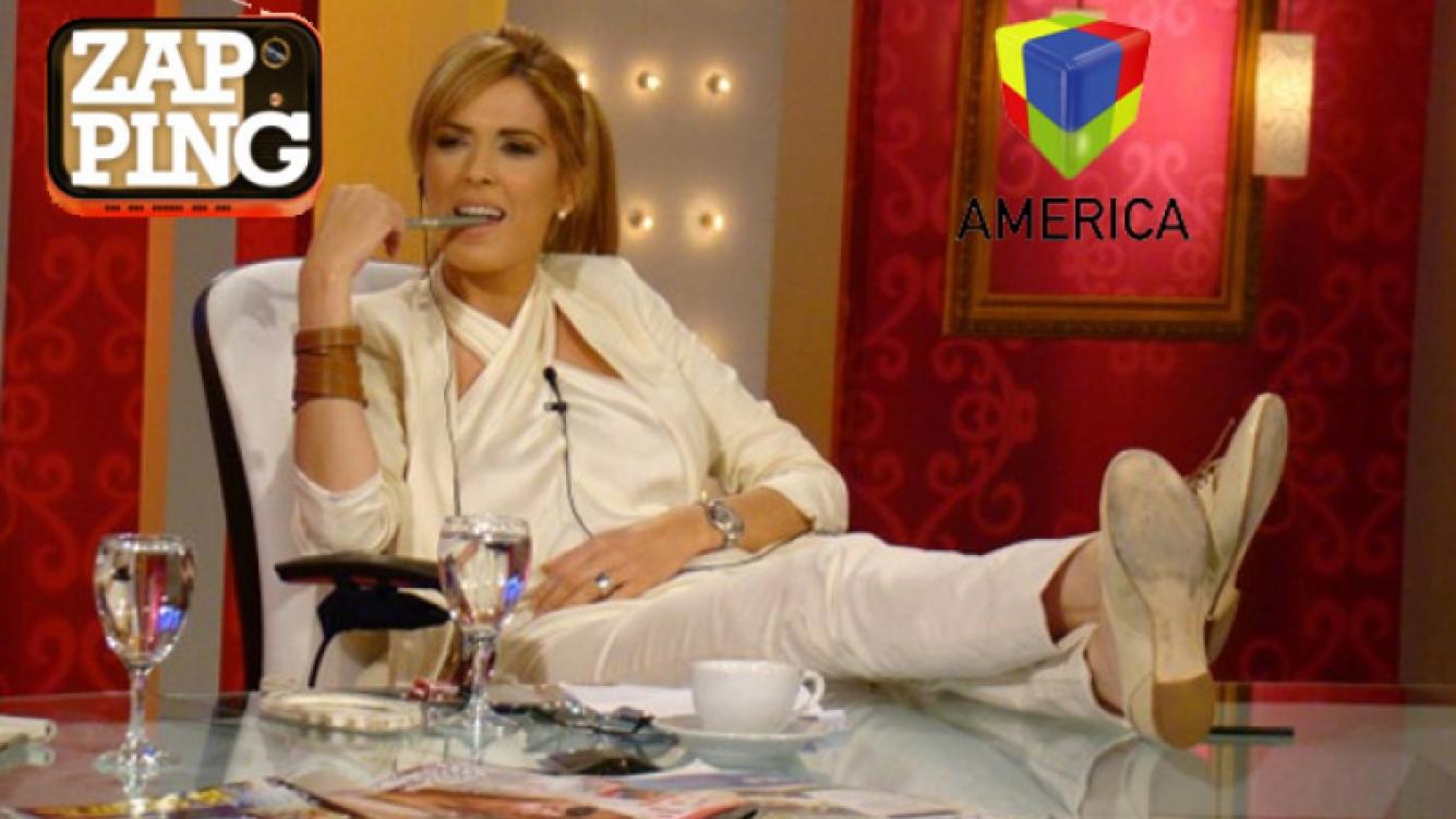 Viviana Canosa conducirá Zapping por América. (Foto: archivo Canal 9)