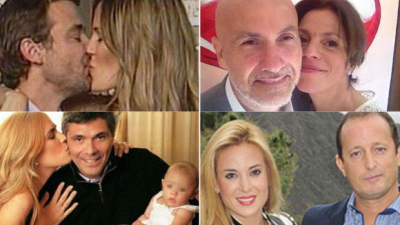 Paula, Morelo, Canosa y Cirio. (Foto: Web)