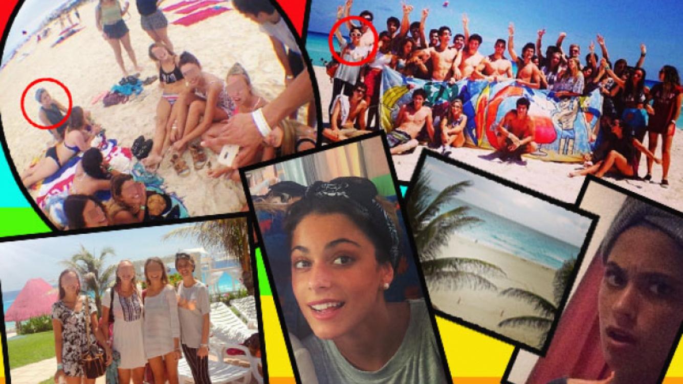 El álbum de fotos del divertido viaje de egresados de Tini Stoessel, en las paradisíacas playas de Cancún. (Foto: Ciudad.com)