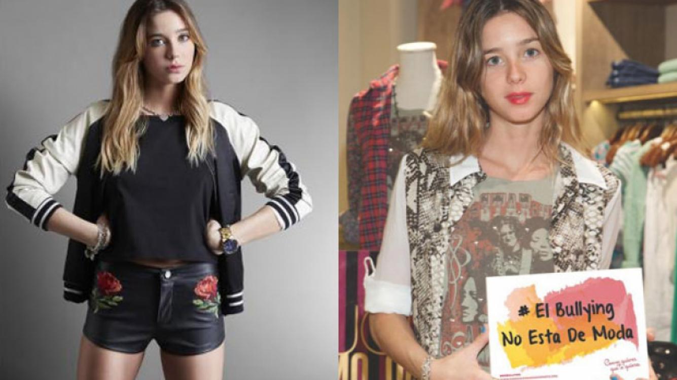 Lucía Celasco en su etapa de modelo y diseñadora (Fotos: Como quieras que te quiera).