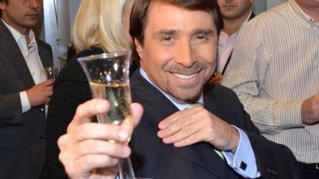 La primer y única borrachera de Eduardo Feinmann. (Foto: Web)