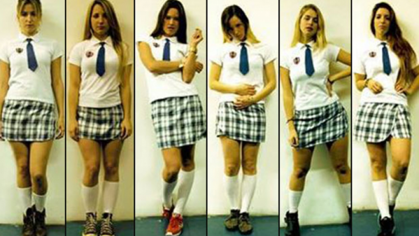 La provocativa campaña gráfica de Perras… la adolescencia feroz que despertó polémica. (Foto: Facebook)