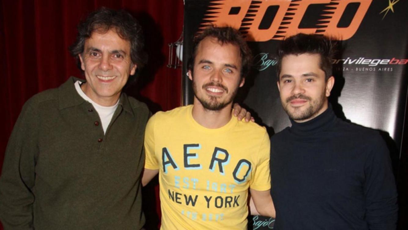 Benjamín Rojas, Felipe Colombo y Willie Lorenzo le pusieron fin a su banda (Foto: Ciudad.com)