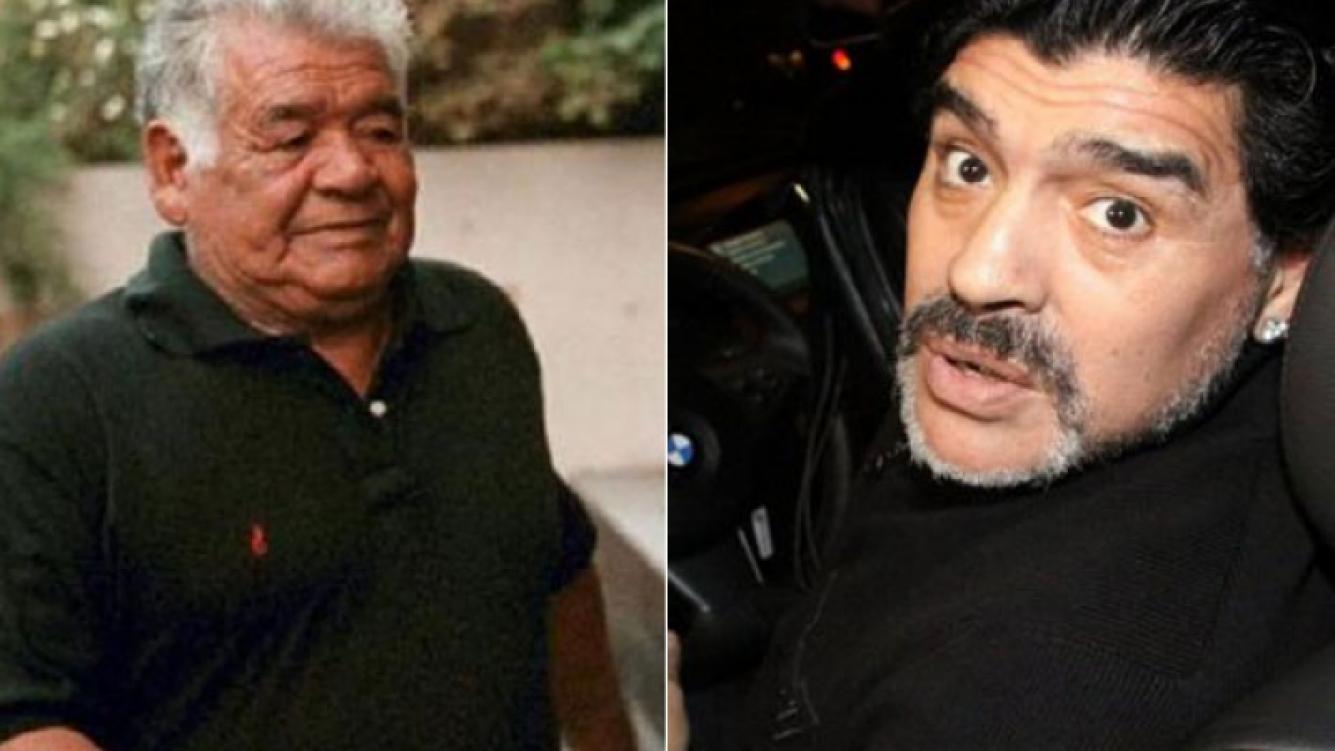 Vuelo de urgencia: Diego Maradona regresa al país tras la internación de su padre (Foto: Web)