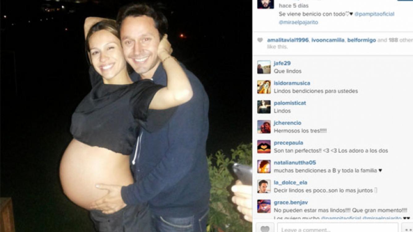 Pampita y Benjamín: una foto súper tierna de su dulce espera (Foto: Instagram).