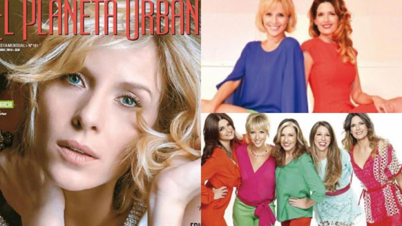 Carla Peterson habló de sus compañeras de elenco en Guapas (Fotos: Web).