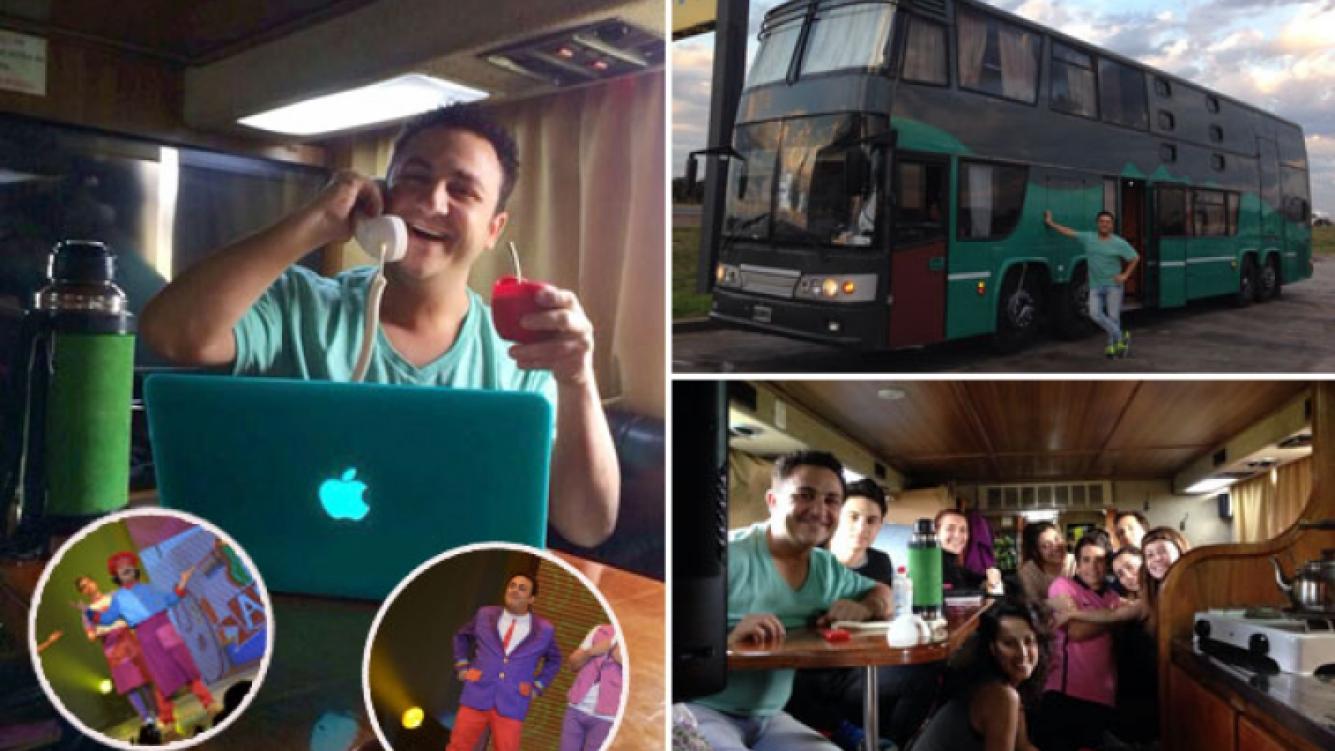 Diego Topa y la aventura de vivir en la ruta. (Foto: gentileza Topa)