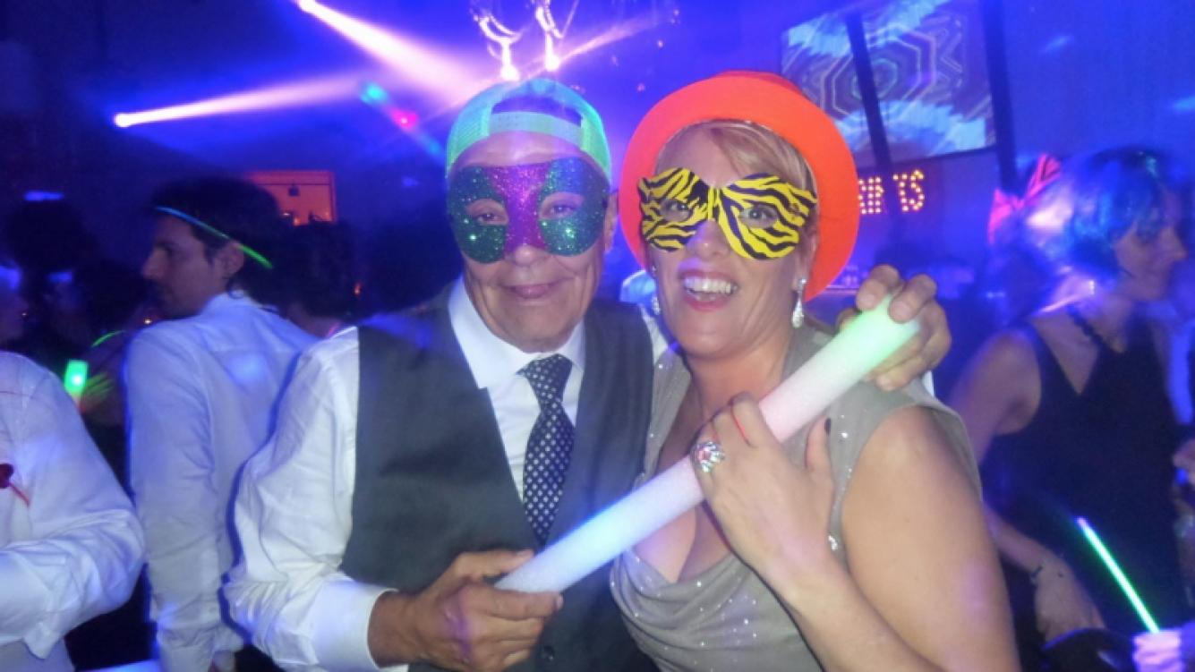 Horacio Alfonso y su novia Fernanda Biotti. (Foto: Facebook)