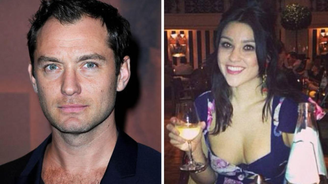 Jude Law será padre por quinta vez con su ex, Catherine Harding. (Foto: Web)