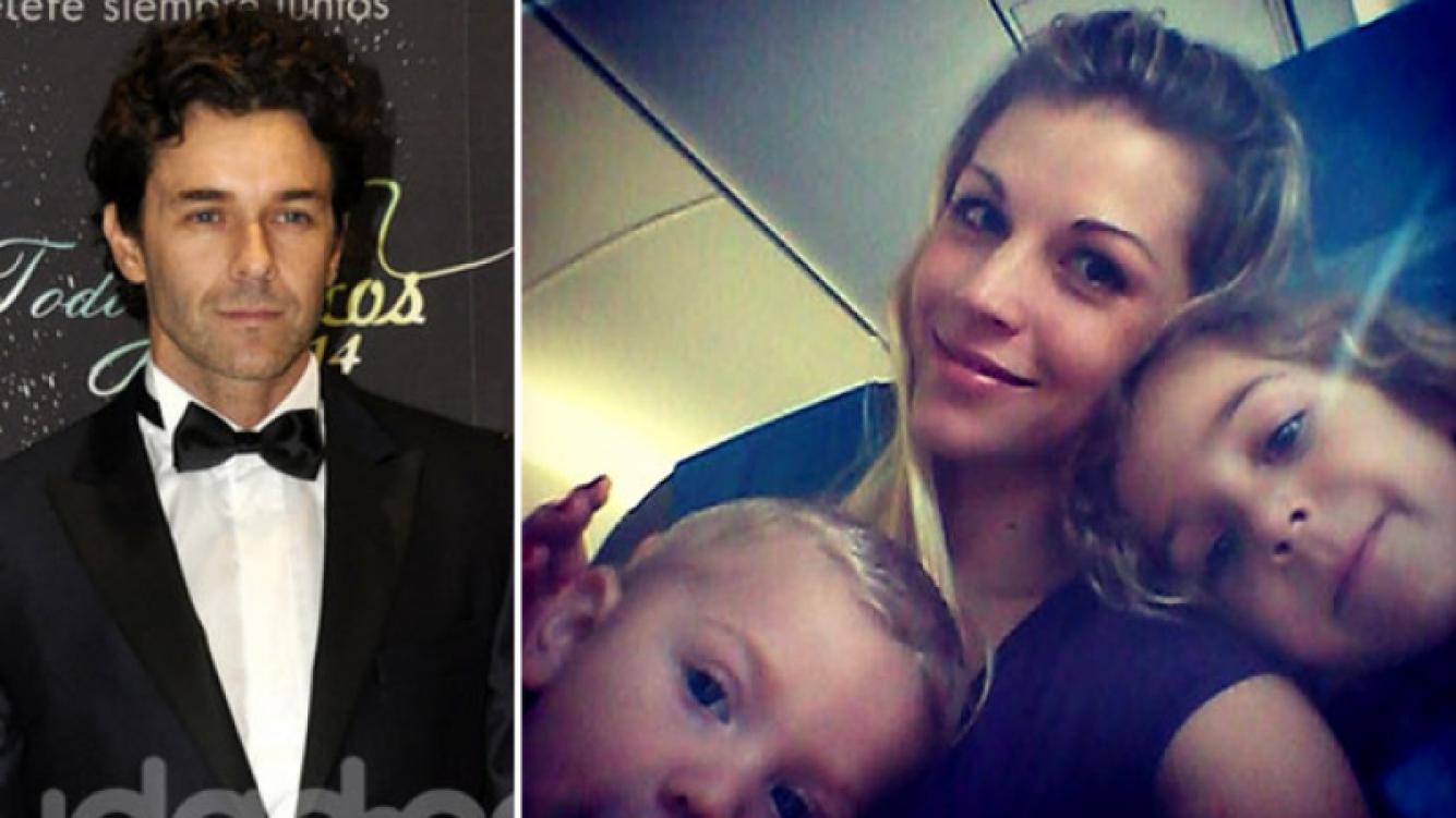 Mariano Martínez y su cálido saludo por el Día de la Madre a su ex mujer, Juliana Giambroni. (Foto: Instagram)