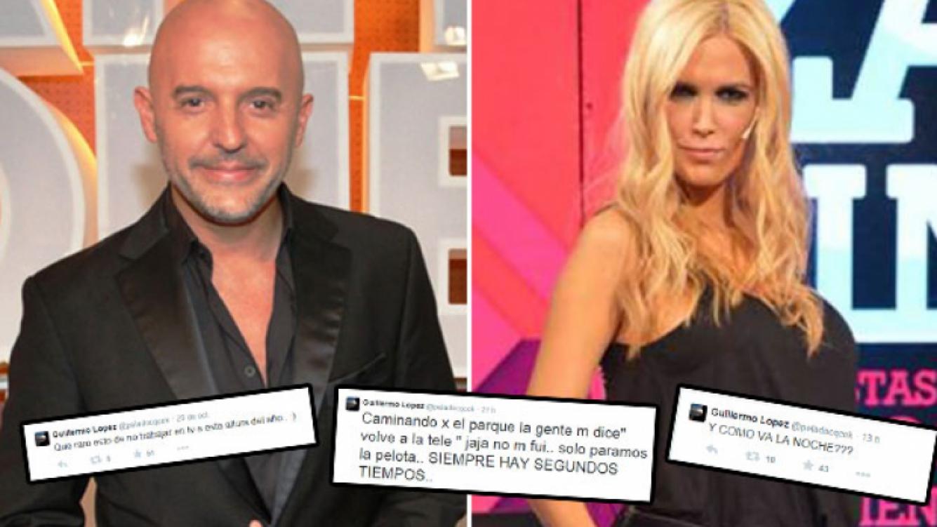 Los sugestivos tweets del Pelado López cuando Viviana Canosa está al aire. (Foto: Web)