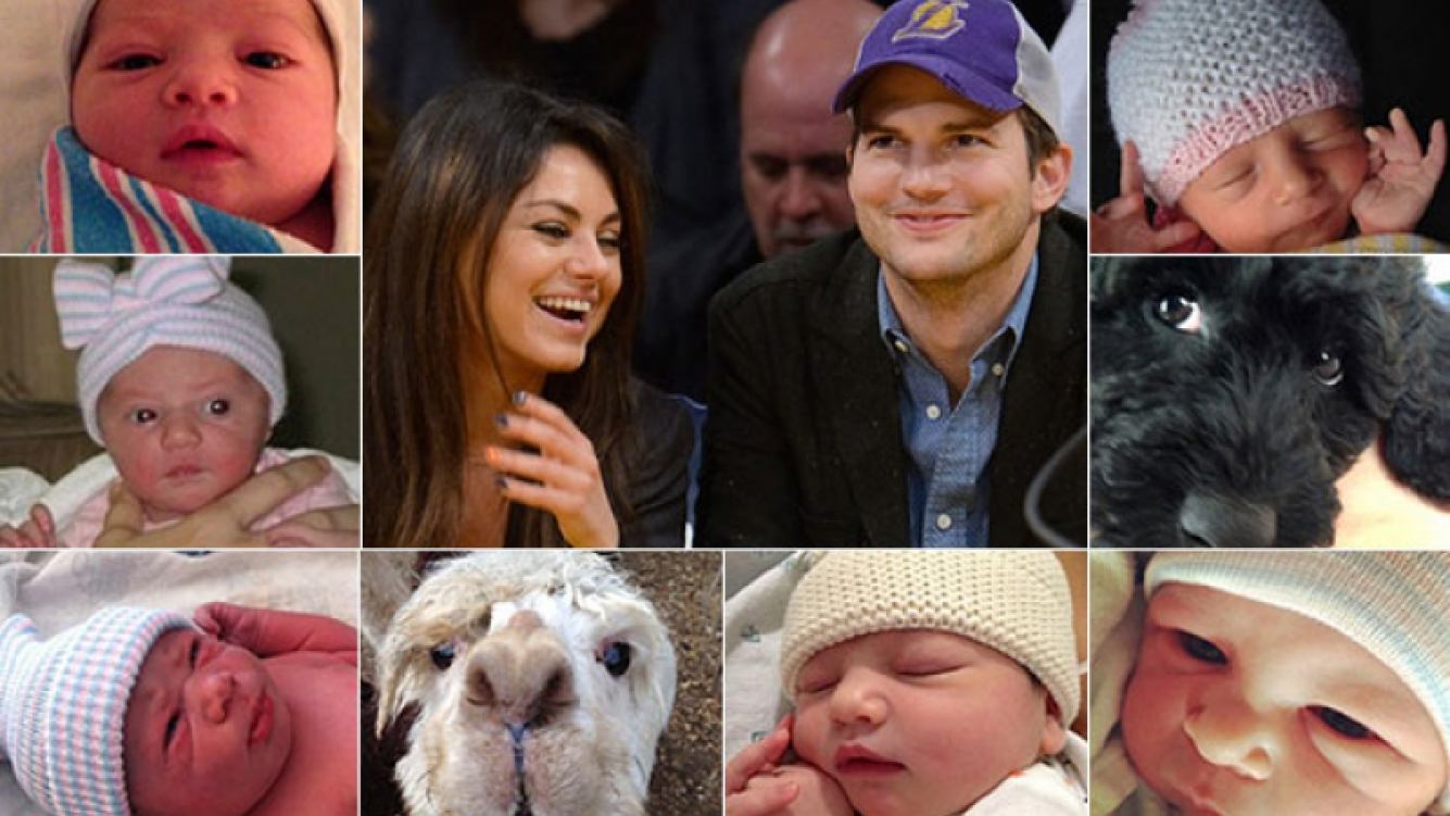 Ashton Kutcher y Mila Kunis revelaron el curioso nombre de su hija  (Foto: Sitio oficial de Asthon Kutcher)