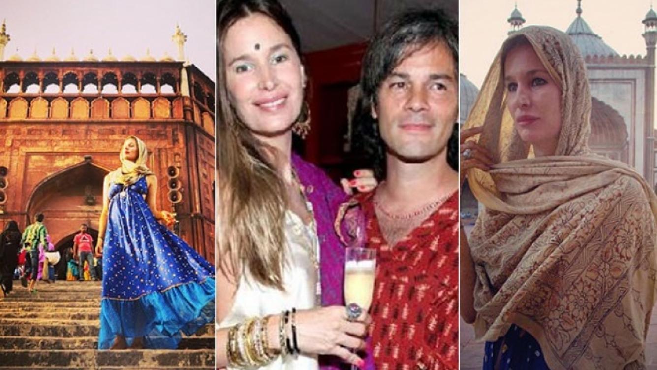 Dolores Barreiro y Matías Camisani renovaron sus 18 años de amor en la India (Foto: Instagram)