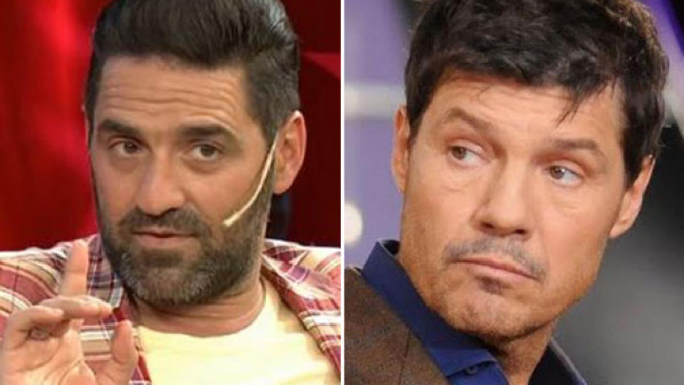 Mariano Iúdica y la distancia con Marcelo Tinelli. (Fotos: Web)