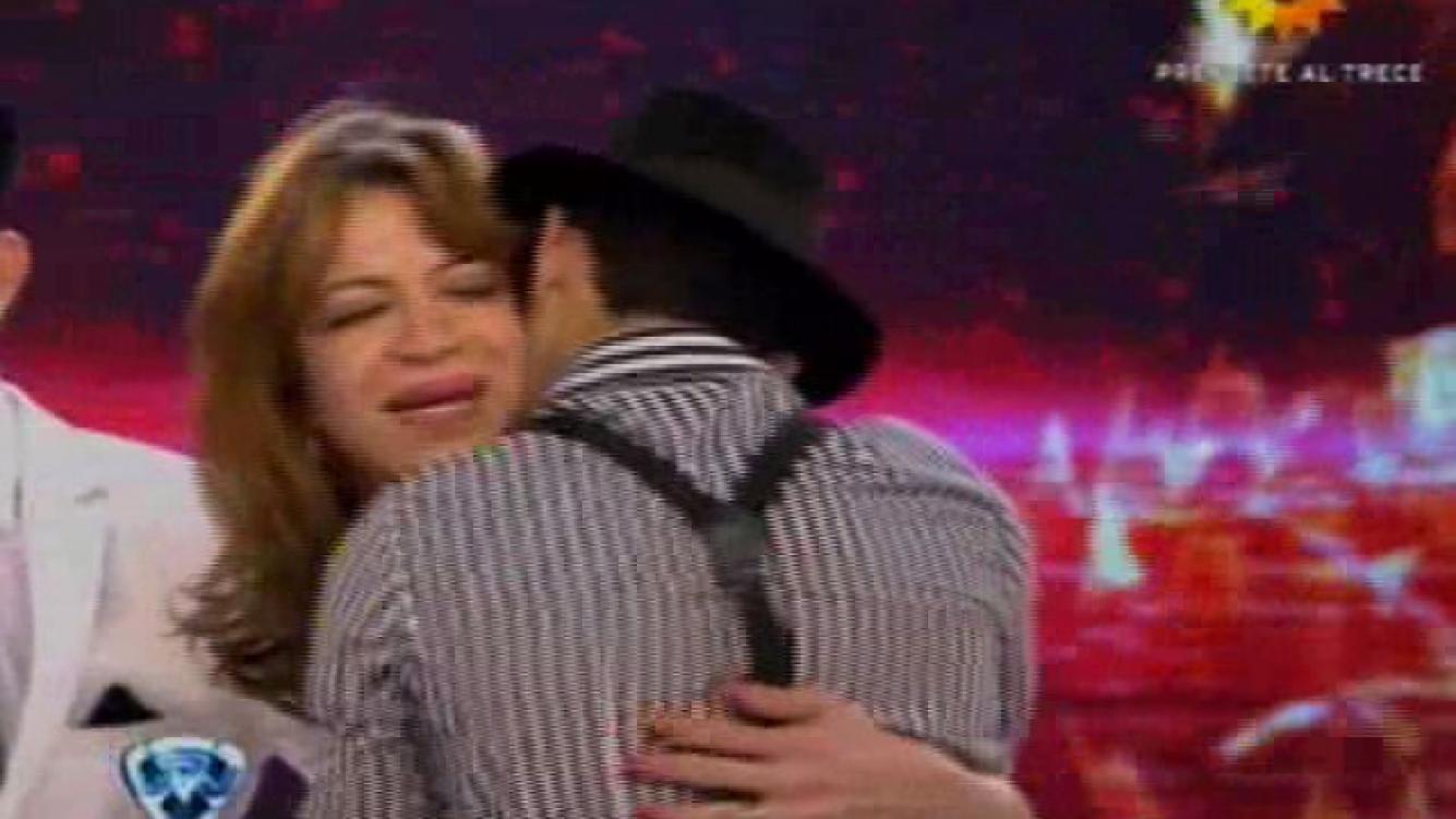 Lizy Tagliani prolonga su sueño en Bailando. (Foto: captura de TV)