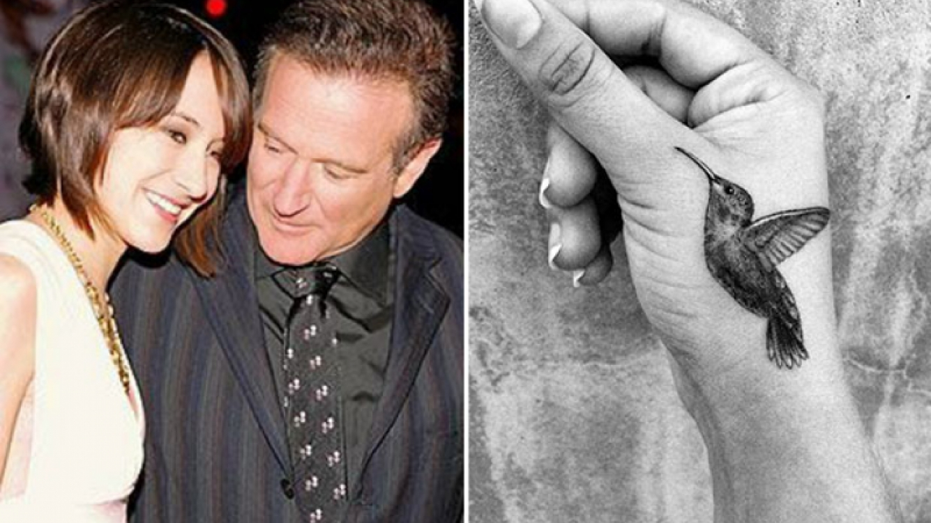 El emotivo tatuaje de la hija de Robin Williams. (Foto: Instagram)