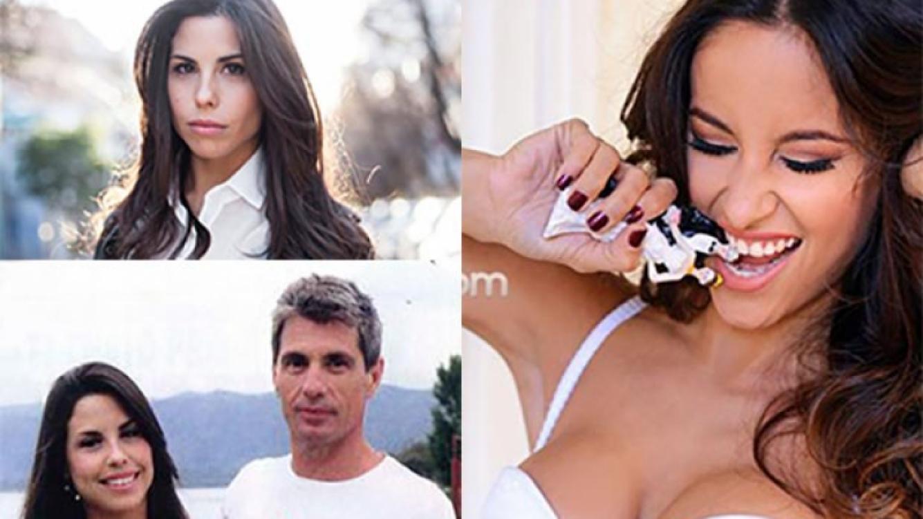 Florencia Prada arremetió contra Lourdes Sánchez, novia de su papá. (Fotos: Web y Ciudad.com)