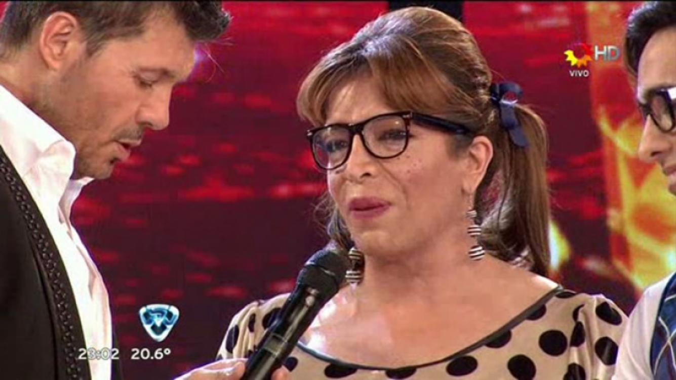 Lizy Tagliani derrotó a Rosemary González en el duelo telefónico. (Foto: Captura de TV)