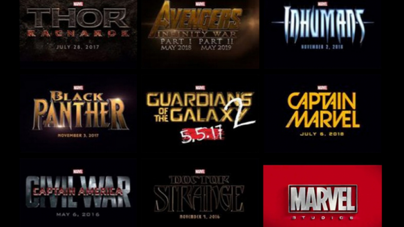 Los estrenos de Marvel. (Foto: Web)