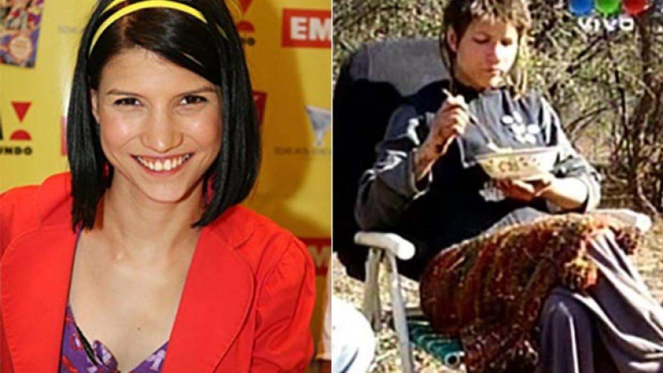 Camila Bordonaba y su nueva vida. (Fotos: Web y Captura TV)