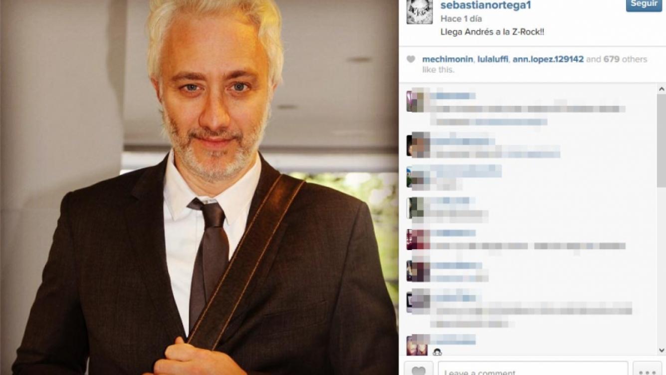 Andy Kusnetzoff se suma a Viudas e Hijos del Rock. (Foto: Instagram.com/sebastianortega1)