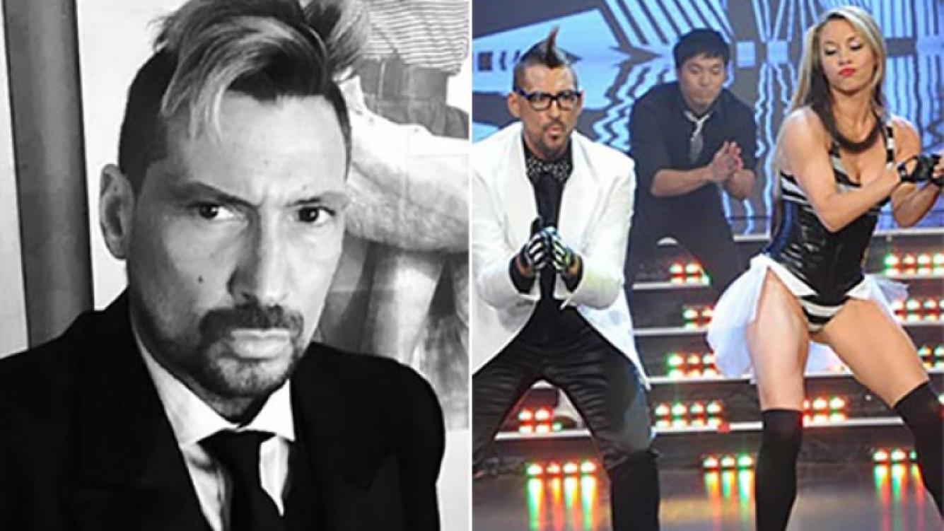 Luciano El Tirri volvió a ShowMatch tras su internación. (Fotos: Twitter y Captura TV)