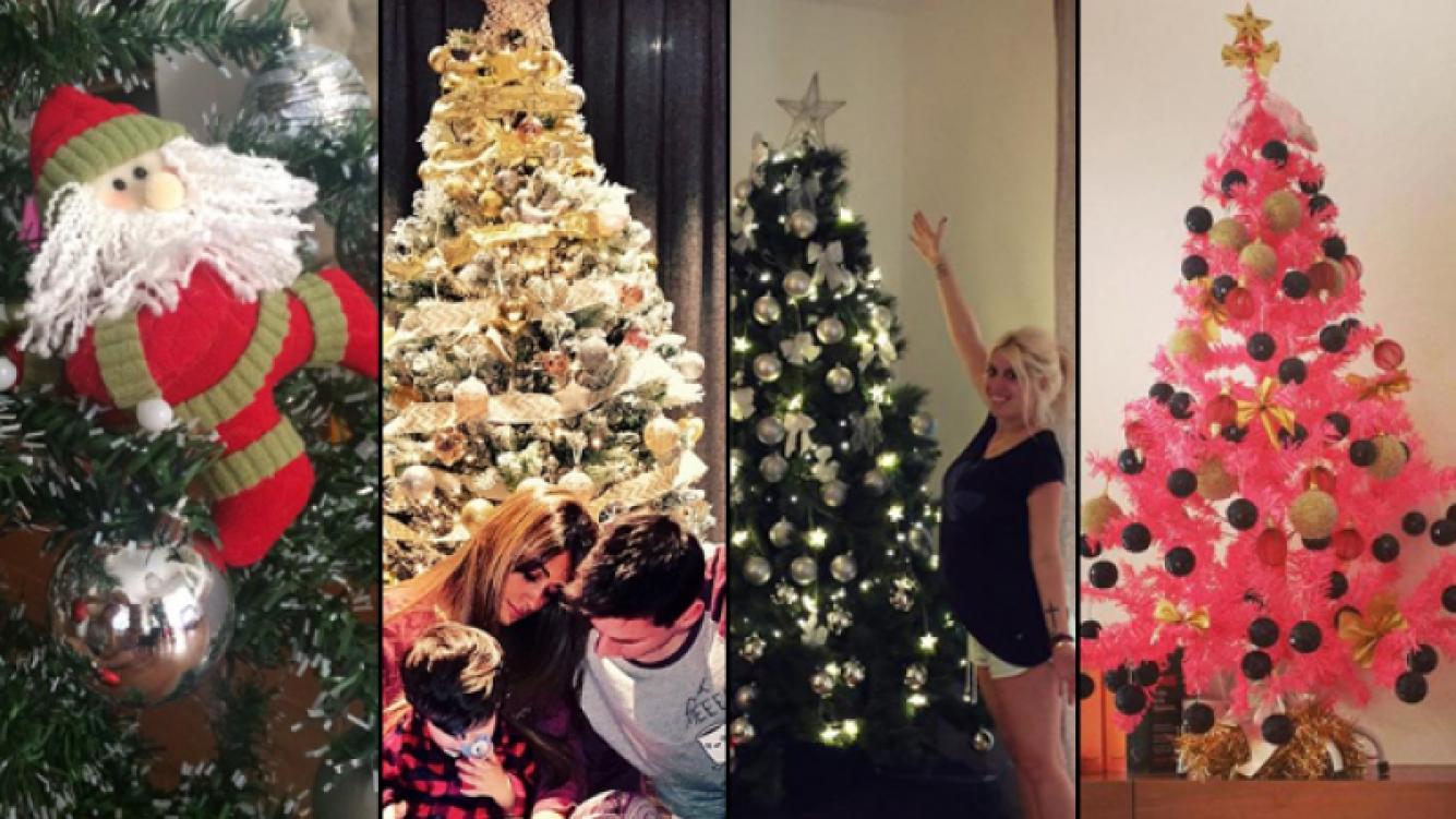 Los arbolitos de Navidad de los famosos (Fuente: web)