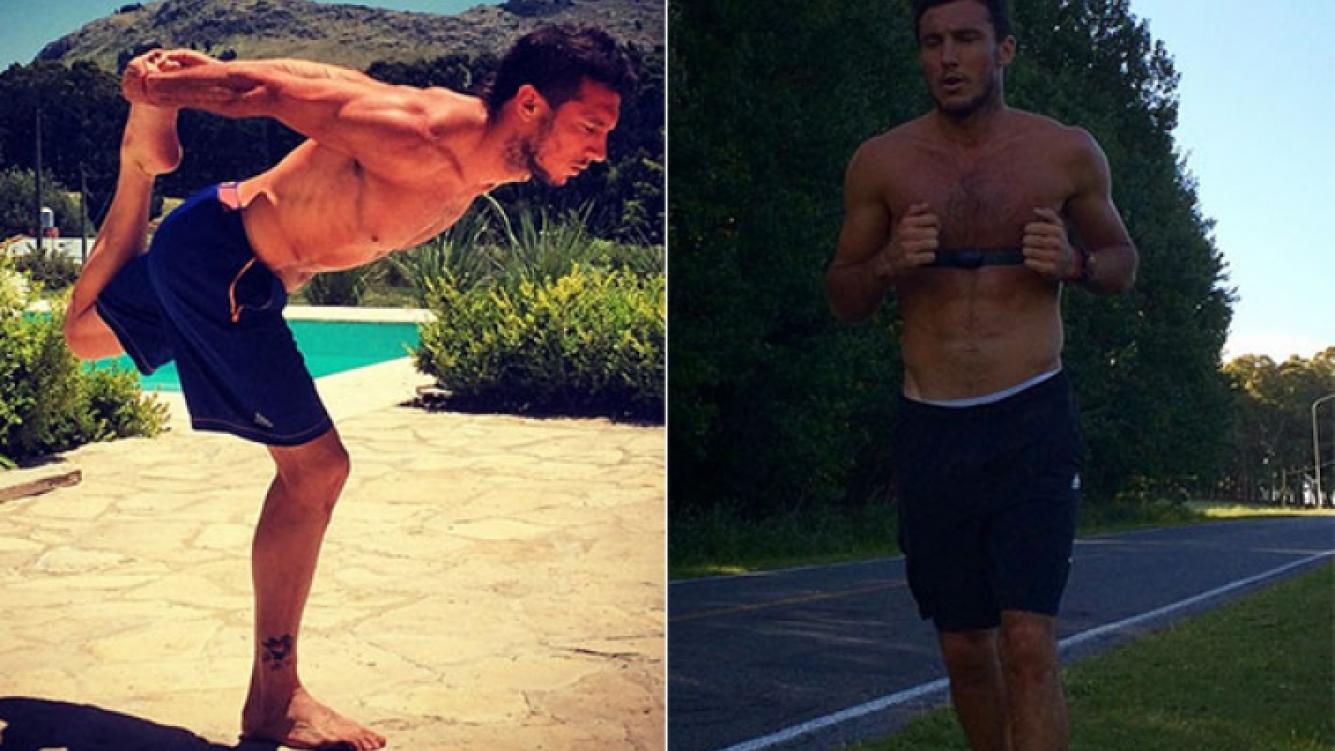 Pico Mónaco, un soltero en acción: mostró su escultural cuerpo haciendo ejercicios  (Foto: Instagram)