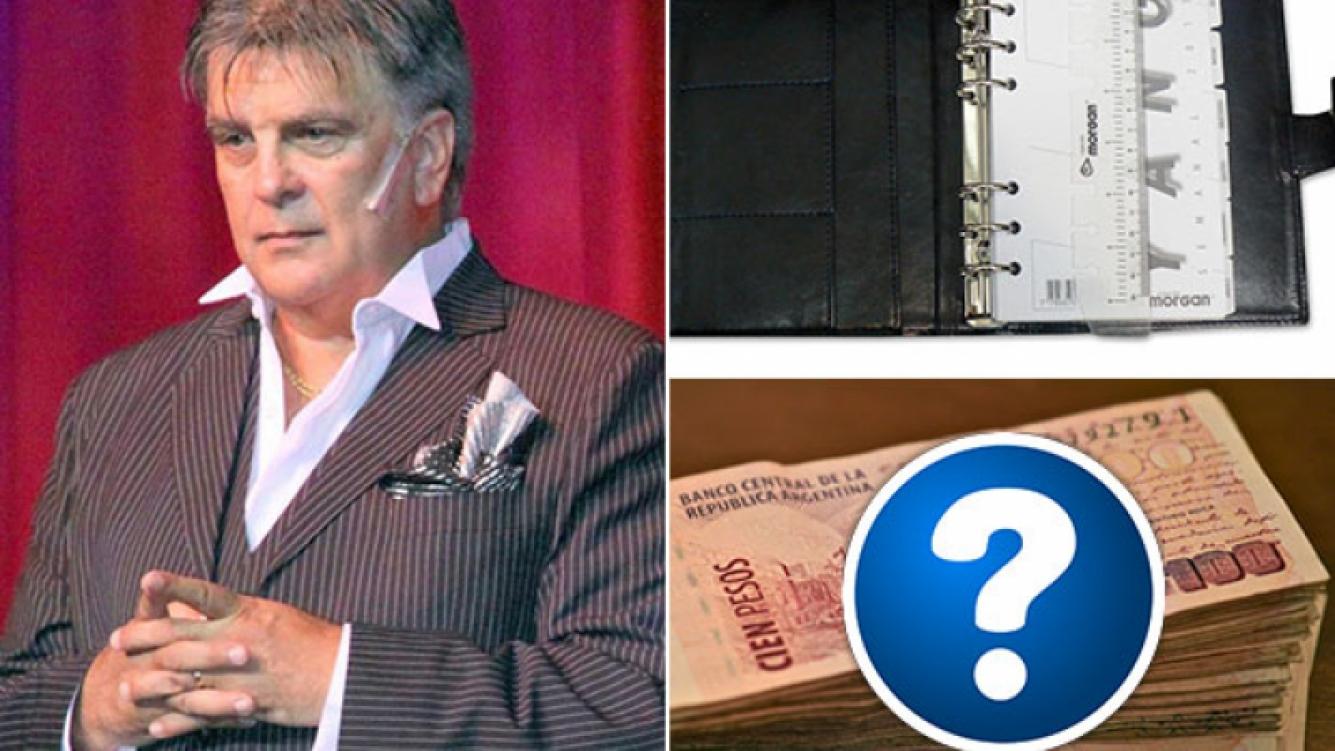 Luis Ventura recuperó parte de la agenda que le habían robado y pagó una recompensa. (Foto: Web)