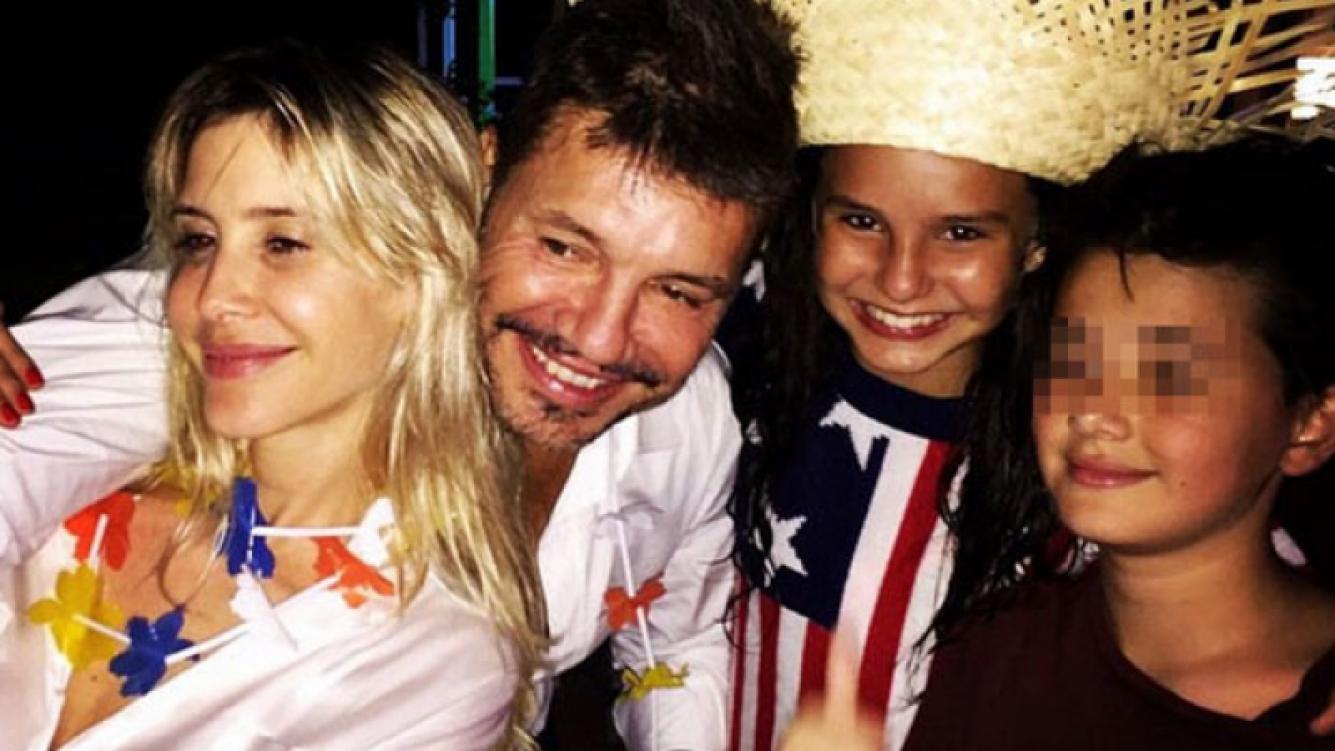 La exclusiva fiesta de fin de año de Marcelo Tinelli en Punta (Fotos: Instagram).