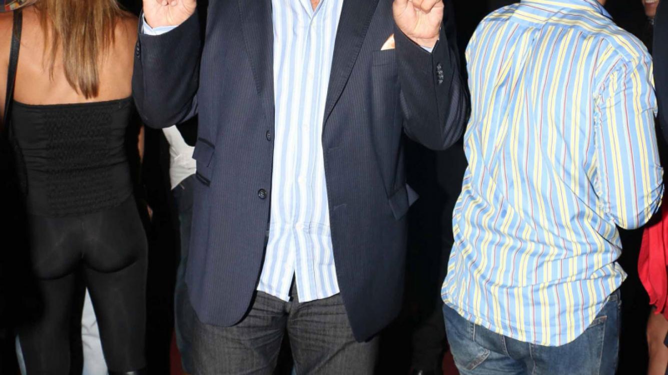 Luis Ventura, en el estreno de El Hombre de la Mancha (Foto: Movilpress)