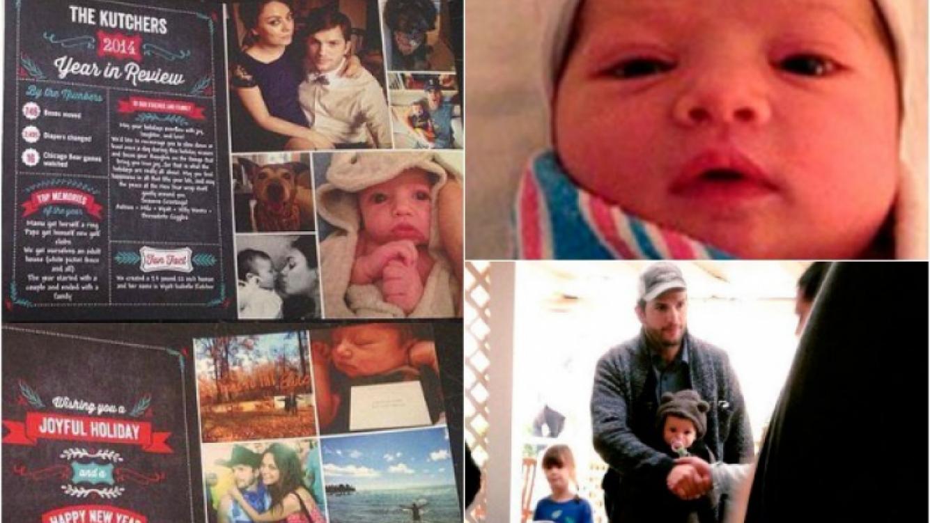 Wyatt Isabelle, la preciosa hija de Ashton y Mila. (Fotos: Web)