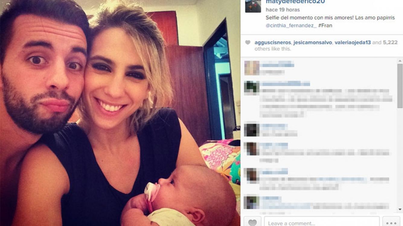 Cinthia Fernández y Matías Defederico confirmaron su reconciliación en Instagram: fotos y dedicatorias de amor (Foto: Instagram)