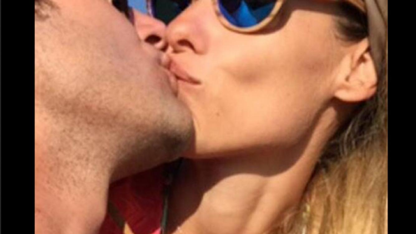 """El romántico mensaje de Benjamín Vicuña a Pampita: """"Feliz cumple luz de mis días"""" (Foto: Twitter)"""