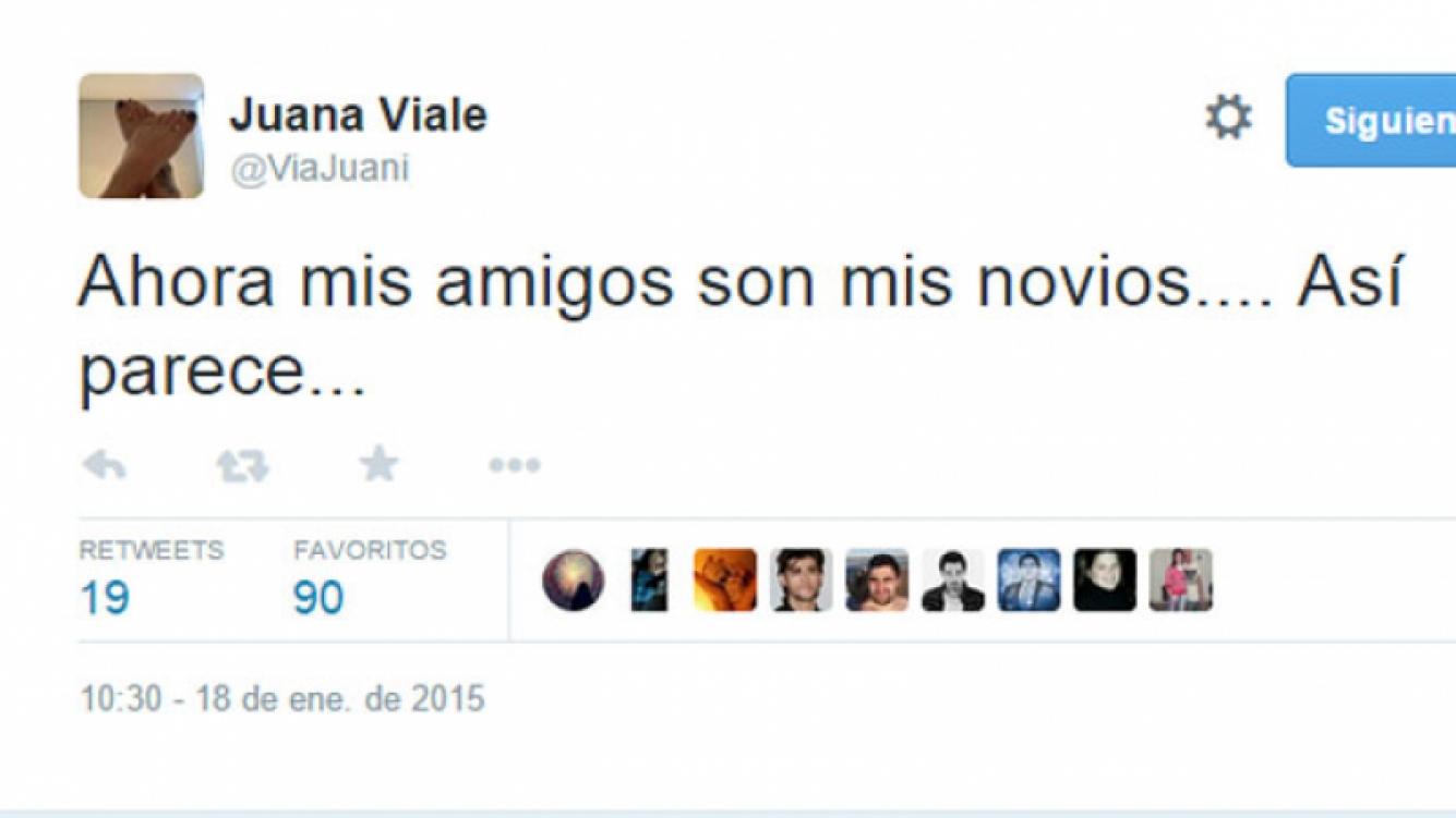 Juana Viale se hizo eco del rumor sobre su relación con el Zorrito (Fotos: Web).
