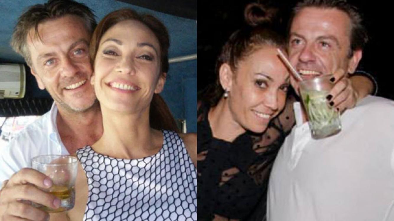 Ernestina Pais y su nuevo novio llamado Álvaro, felices (Fotos: Facebook).