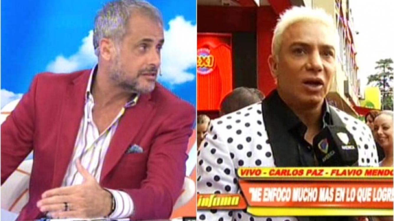 Jorge Rial durísimo contra Flavio Mendoza. (Foto: Web)