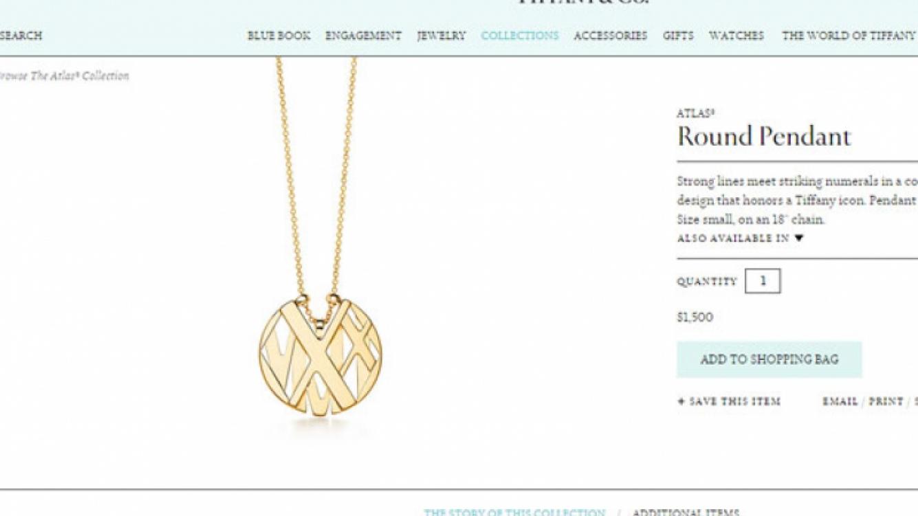 Este es el costoso colgante que le regaló Rial a Loly (Foto: Web).