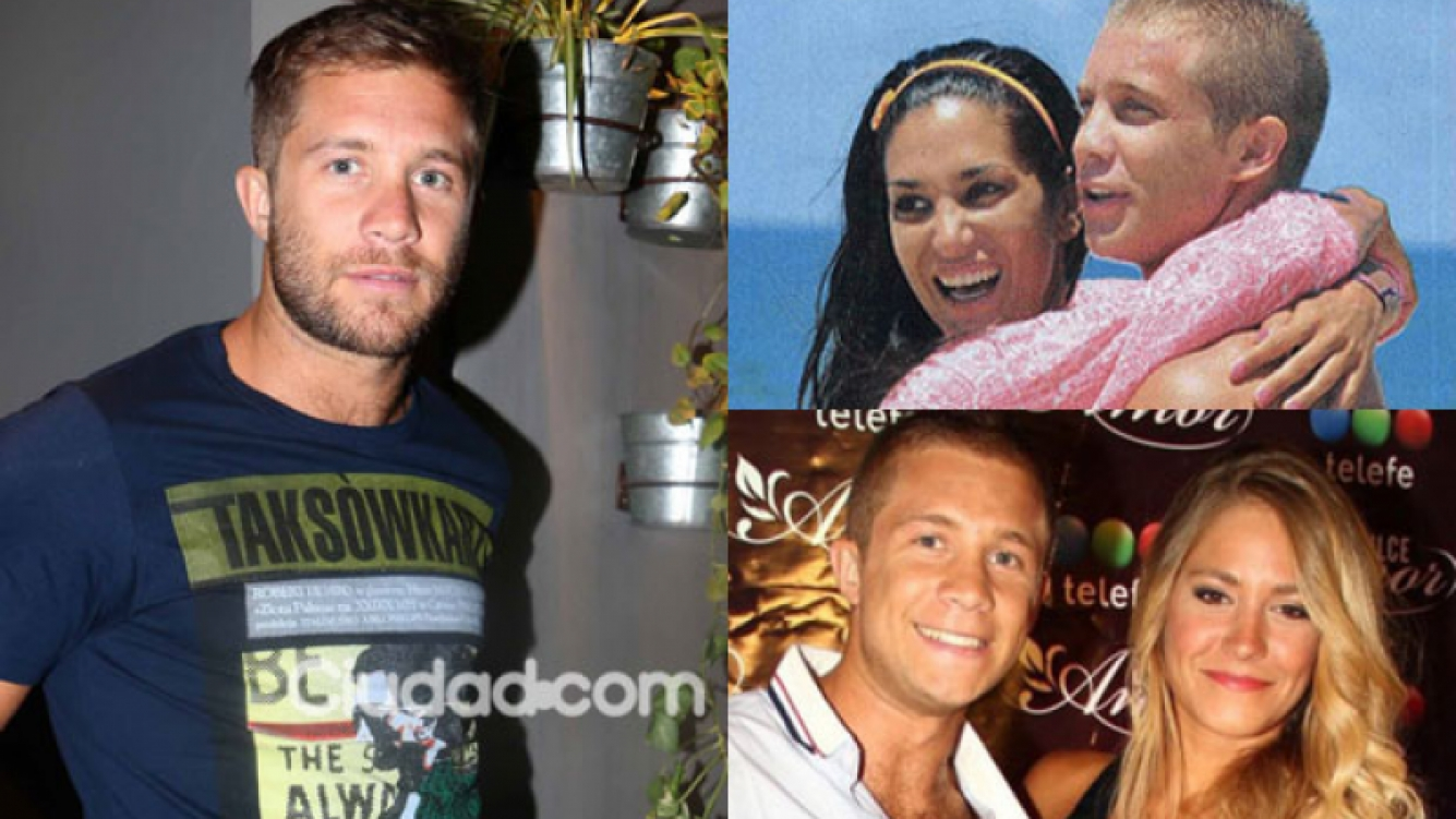 Nico Riera habló de sus ex y de la polémica foto íntima con Silvina (Fotos: Movilpress y Web).