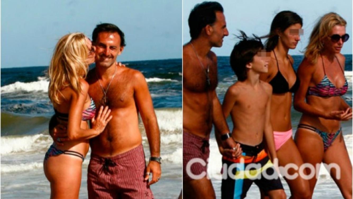 Los Latorre mostraron que su amor sigue vivo, a 22 años de su casamiento. (Foto: Ciudad.com)