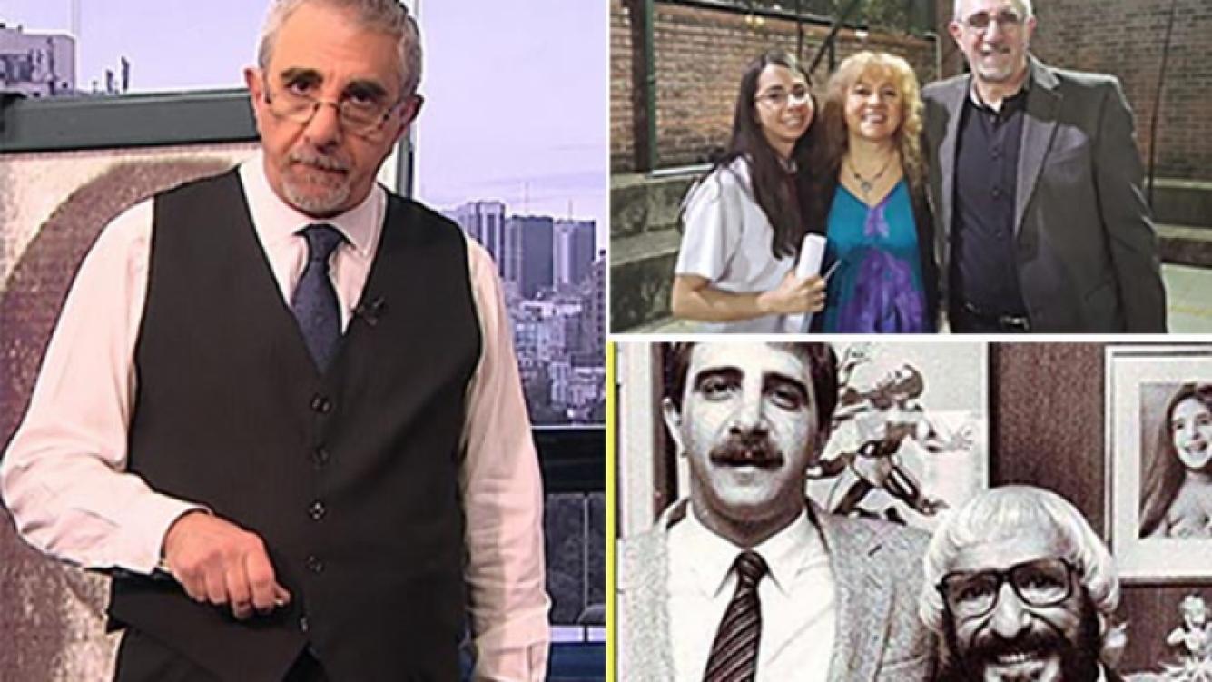 Ricardo Canaletti, en diversas etapas de su vida. (Fotos: Web y archivo Ricardo Canaletti)
