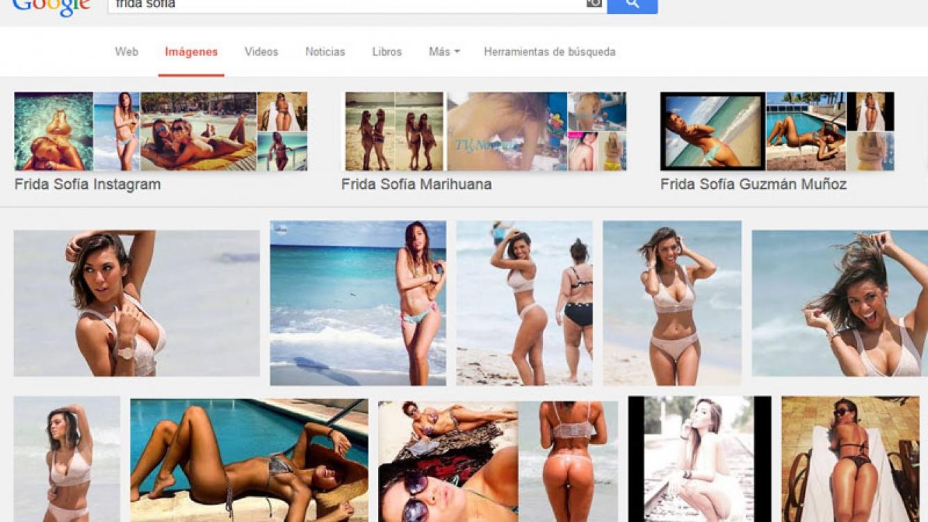 Floppy Tesouro fue confundida con la diosa mexicana Frida Sofía. (Foto: Web)
