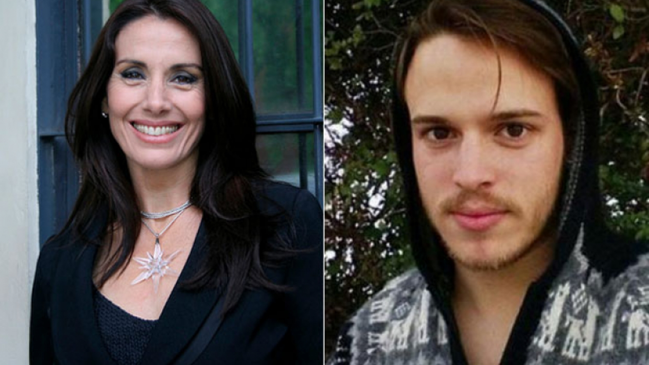 Viviana Saccone y una reflexión tuitera sobre lo que generó su noviazgo con un joven actor (Foto: Web y Facebook)
