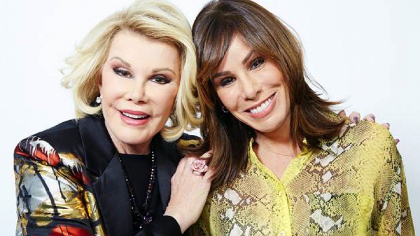 Joan y Melissa Rivers. (Foto: web)