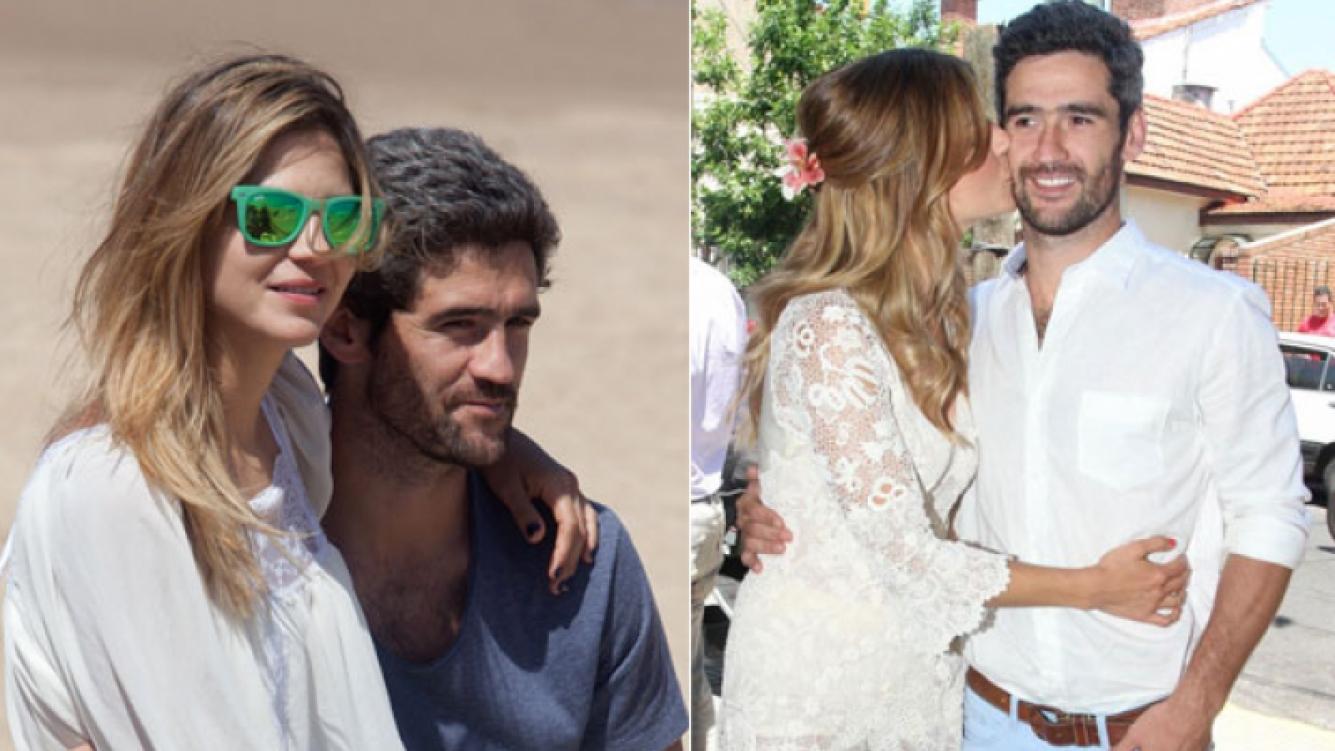 Fernando Sieling, el marido de Marcela Kloosterboer, todo un romántico. (Foto: Web)