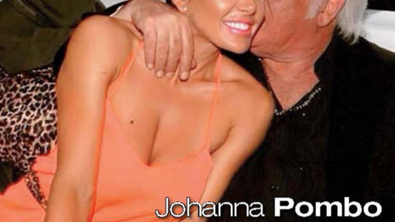 La foto que disparó los rumores de romance entre Johanna Villafañe y el Coco Basile. (Foto: revista Paparazzi)
