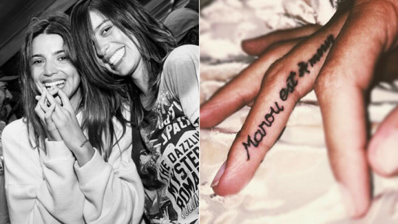 El nuevo y significativo tatuaje que Calu Rivero le dedicó a su hermana: