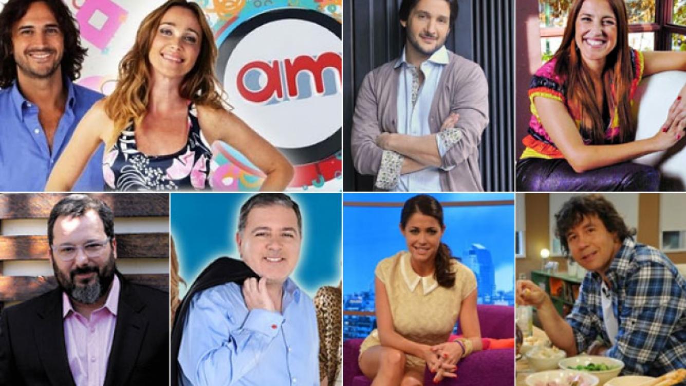 Las nuevas mañanas de las TV. (Fotos: archivo Web)