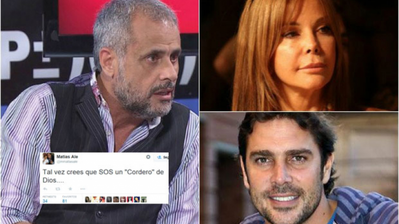 Las pistas de Jorge Rial sobre el enigmático tweet de Matías Alé.
